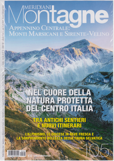 Appennino centrale, Monti Marsicani e Sirente-Velino
