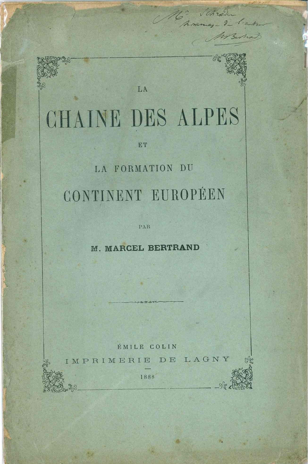 La chaîne des Alpes et la formation du continent européen
