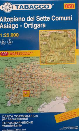 Foglio 50: Altopiano dei Sette Comuni-Asiago-Ortigara