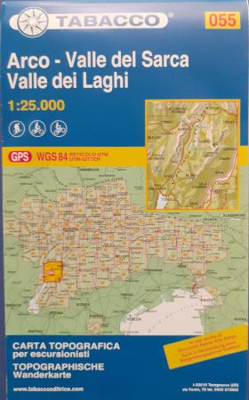 Foglio 55: Arco-Valle del Sarca, Valle dei Laghi