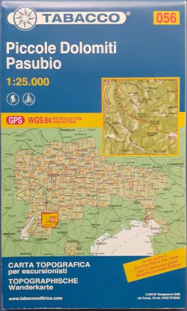 Foglio 56: Piccole Dolomiti, Pasubio