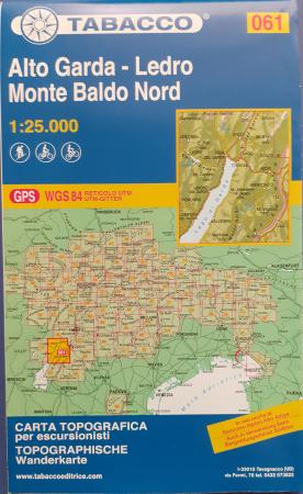 Foglio 61: Alto Garda-Ledro, Monte Baldo nord