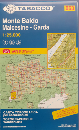 Foglio 63: Monte Baldo, Malcesine-Garda