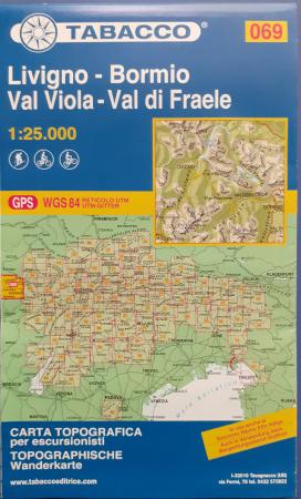 Foglio 69: Livigno-Bormio-Val Viola-Val di Fraele