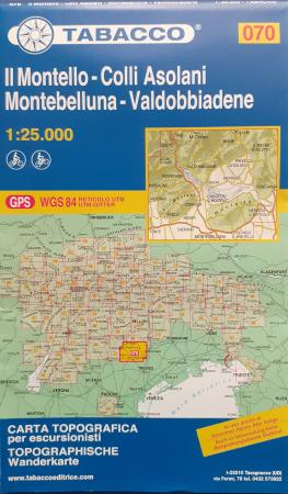Foglio 70: Il Montello-Colli asolani-Montebelluna-Valddobiadene