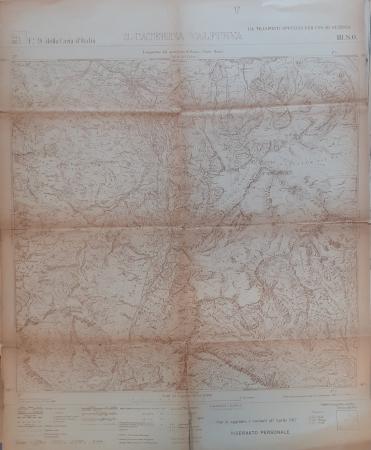 Foglio 9 III S.O. della Carta d'Italia: S. Caterina Valfurva