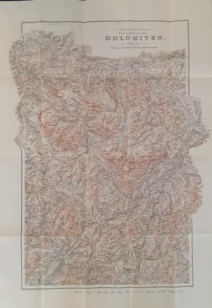 G. Freytag & Berndt's Übersichtskarte der Dolomiten / [Kartographischen Anstalt G. Freytag & Berndt]. Blatt 2