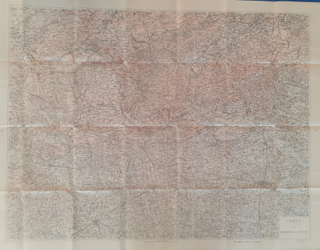 Carta tra Brenta e Piave