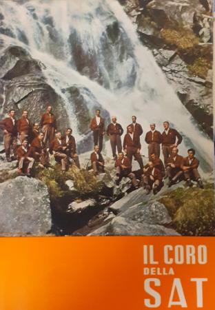 Il Coro della Sat sezione della Società alpinisti tridentini