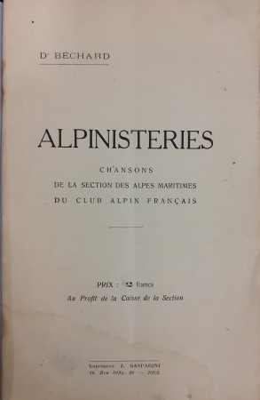 Alpinisteries