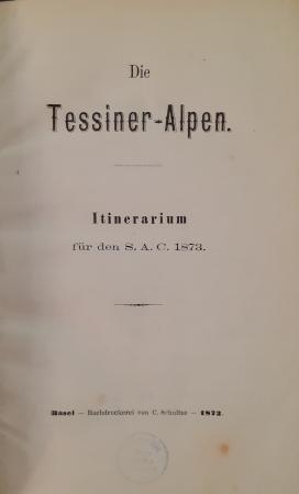 Die Tessiner-Alpen