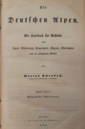Erster theil: Allgemeine Schilderung