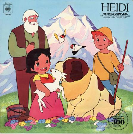 Heidi. Historia completa con la voces, canciones y dibujos originales de la serie Heidi