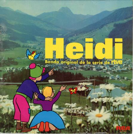 Heidi. Banda original de la serie de RTVE