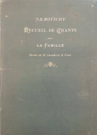 Recueil de chants pour la famille pour une (ou deux) voix avec accompagnement de Piano