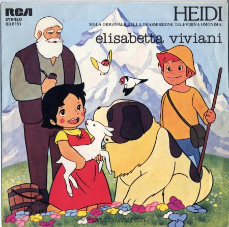 Heidi. Sigla originale della trasmissione televisiva omonima