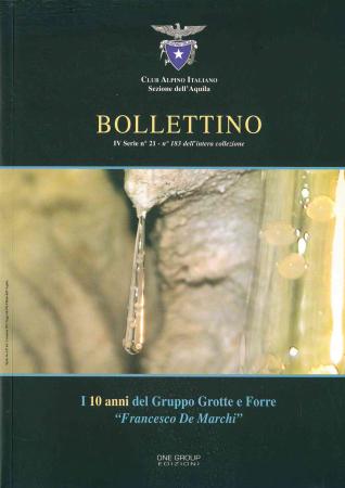 Bollettino IV serie n. 21 - n. 183 dell'intera collezione
