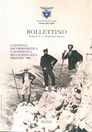 L'attività escursionistica e alpinistica dei Leosini agli inizi del '900