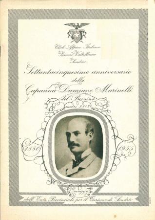 Settantacinquesimo anniversario della Capanna Damiano Marinelli del Bernina metri 2813
