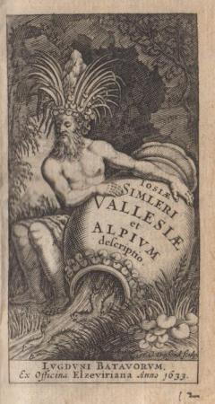 Iosiæ Simleri Vallesiæ et Alpium descriptio