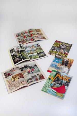 [1.5. Caricature, disegni, fumetti e opere su Walter Bonatti]