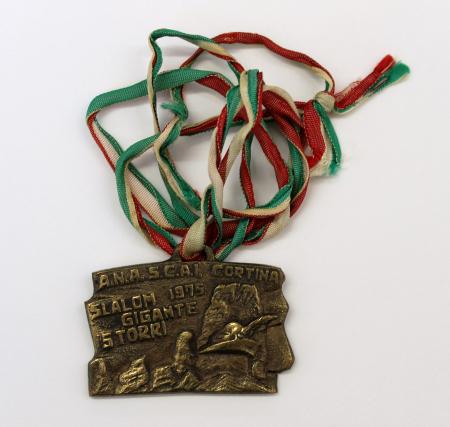 A.N.A.S. C.A.I. Slalom gigante 1975 5 Torri. V Camp. Sezionale