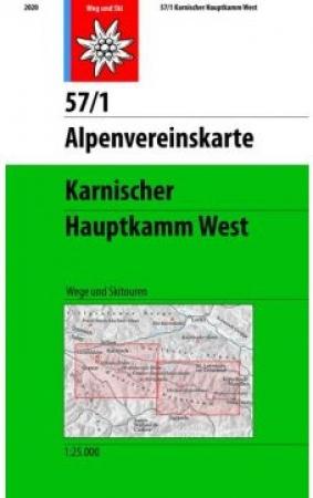 Karnischer, Hauptkamm West