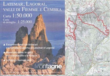 Latemar, Lagorai, Valli di Fiemme e Cembra