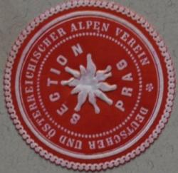 Deutscher und Oesterreichischer Alpen Verein sektion Prag